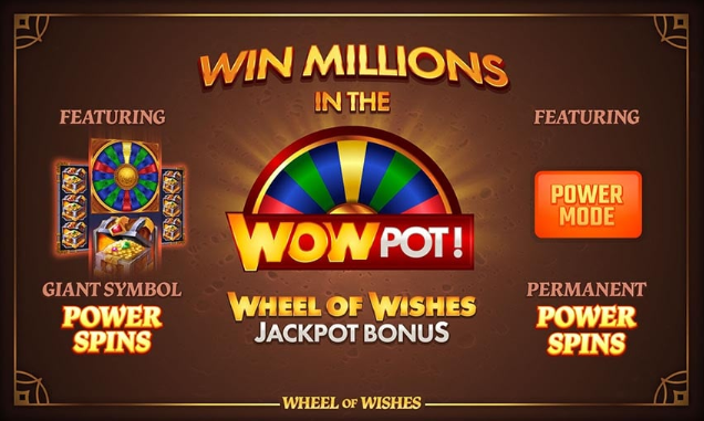 Wheel of Wishes Spel Features