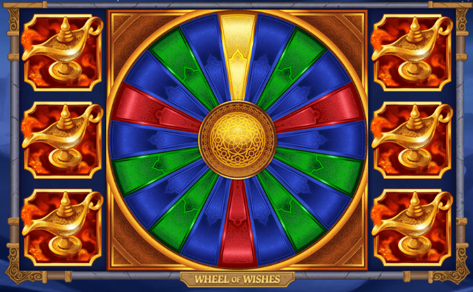 Wheel of Wishes Power Mode